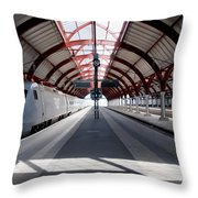 Malmo Central Station Throw Pillow