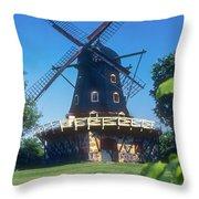 Malmo Windmill Throw Pillow