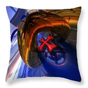 Malt C 16 Throw Pillow