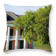 Malus Beauregard House Throw Pillow