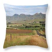 Maluti Mountains Throw Pillow