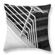 Mam Art Deco Stairs Throw Pillow