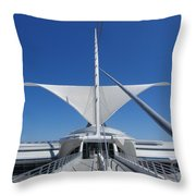 Mam From Bridge 3 Throw Pillow