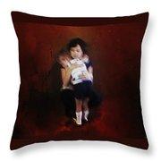 Mamas Love Throw Pillow