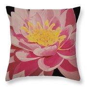 Mama's Lovely Lotus Throw Pillow