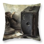 Mama's Memories Throw Pillow by Amy Weiss
