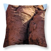 Mammoth In The Rock Throw Pillow