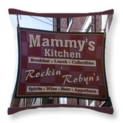 Mammy's Kitchen In Bardstown Kentucky Throw Pillow