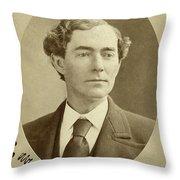 Man, 1874 Throw Pillow