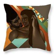 Man And Woman Throw Pillow