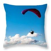 Man Bird Throw Pillow