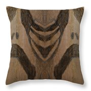 Man Of Sorrows I - Right And Mirrored 1 Throw Pillow