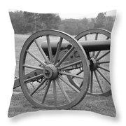 Manassas Battlefield Cannon Throw Pillow