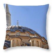 Manavgat Mosque Throw Pillow
