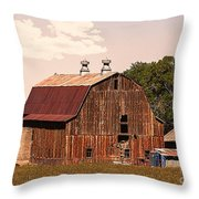 Mancos Colorado Barn Throw Pillow