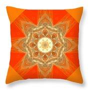 Mandala 014-2 Throw Pillow