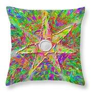Mandala 1 22 2015 Throw Pillow
