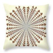 Mandala 12 Throw Pillow
