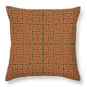 Mandala. 85 Throw Pillow