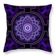 Mandala Hypurplectic Throw Pillow