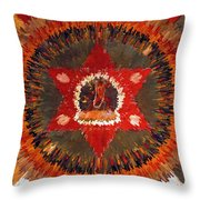 Mandala Naro Khechari Throw Pillow