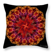 Mandala Of Love Throw Pillow