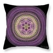 Mandala Of Wisdom Throw Pillow