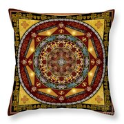 Mandala Oriental Bliss Sp Throw Pillow