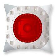 Mandala Pam Throw Pillow