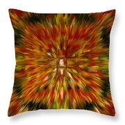 Mandala Vairocana Throw Pillow