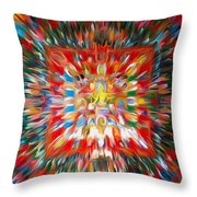 Mandala Vasudhara Throw Pillow