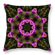 Mandala74 Throw Pillow