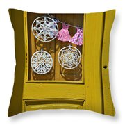 Mandalas Door Throw Pillow