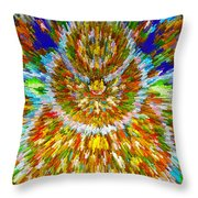 Mandalas Of The Buddha Throw Pillow