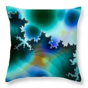Mandelbrot Throw Pillow