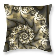 Mandelbrot Set Throw Pillow