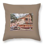 Mandina's Restaurant Throw Pillow