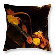 Mandolin Autumn 5 Throw Pillow