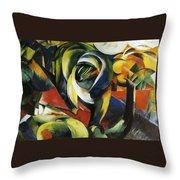 Mandrill 1913 Throw Pillow
