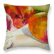 Mangoes  Throw Pillow