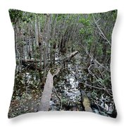 Mangrove 001 Throw Pillow