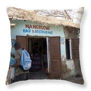 Mangrove Bar And Restaurant Throw Pillow