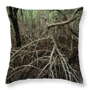 Mangrove Roots 2 Throw Pillow