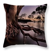 Mangrove Roots Throw Pillow