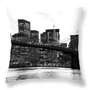 Manhattan 1 Throw Pillow