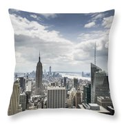 Manhattan II Throw Pillow