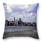 Manhattan On My Mind Throw Pillow