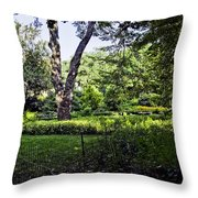 Manhattan Peace Throw Pillow