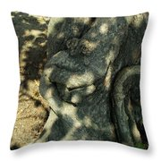 ...manhead Tree... Throw Pillow by Charles Struse Sr