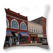 Manistee Michigan Throw Pillow